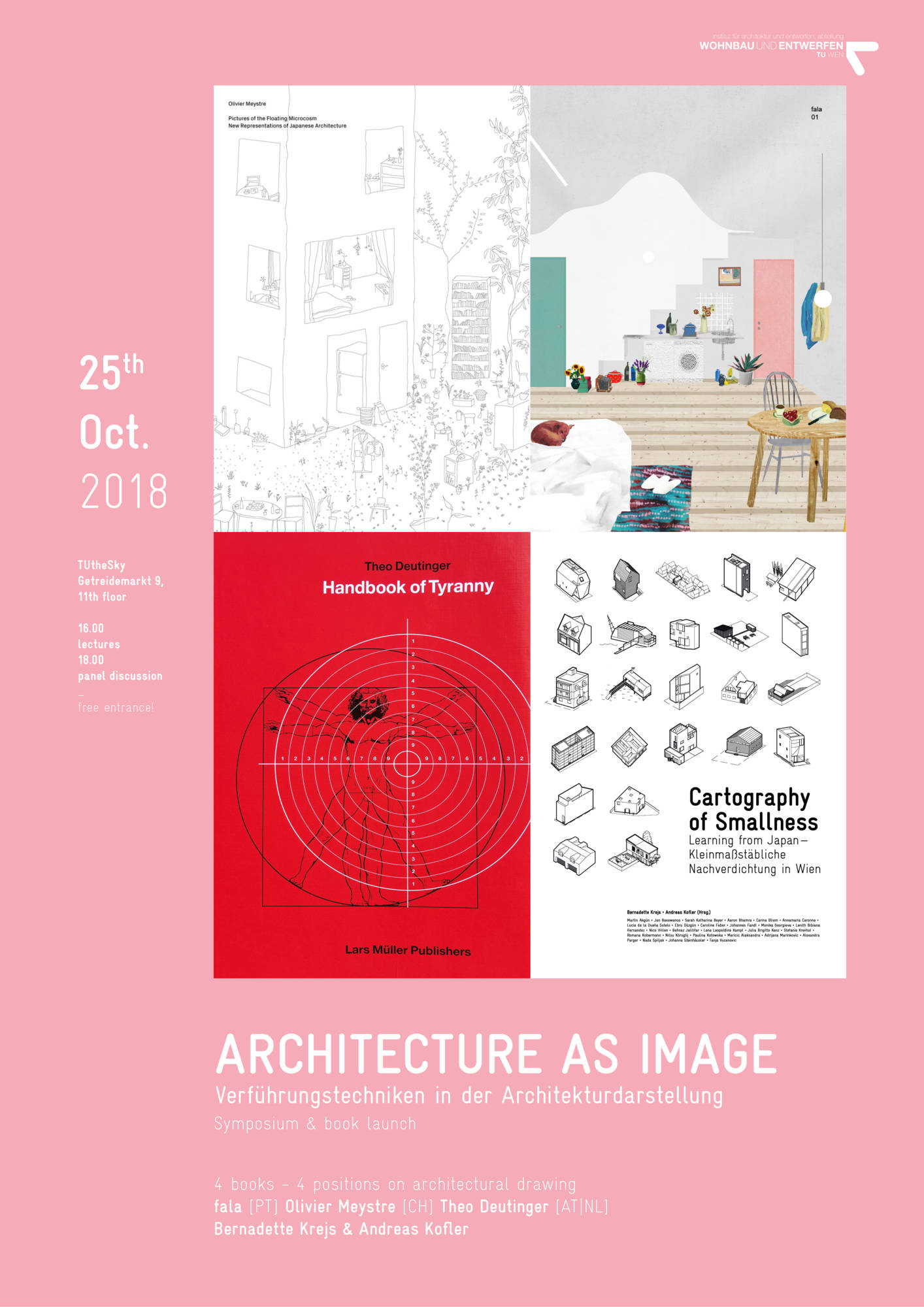 ARCHITECTURE AS IMAGE - Symposium & book launch - TU Wien